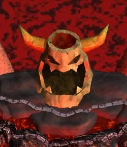 King Bowser Koopa's Magma Mountain