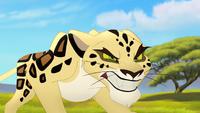 Makucha furious stare