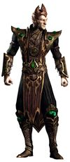 Wrathful Lord Shinnok