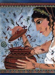 pandora s box mythology the evil wiki fandom powered by wikia pandora s jar
