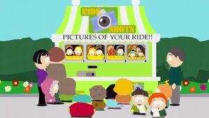 Ride Shots Kiosk