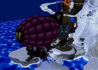 Dr. Cortex's Cortex Airship
