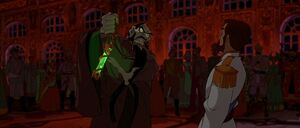 Rasputin vowing revenge on Nicholas