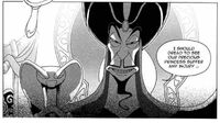 Jafar with his Staff