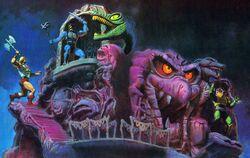 Skeletor's Snake Mountain