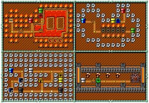 The Koopa Kingdom Map