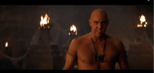 Imhotep's very mad now