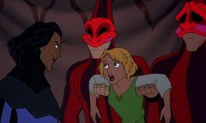 Saroush threatens Madeline