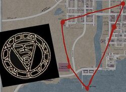 The Seal of Metatron Map
