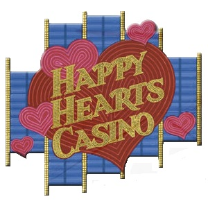The Happy Hearts Casino Logo