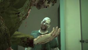 Brandon ugryziony przez zombie