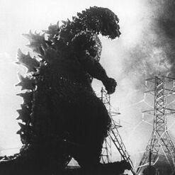 G54 - Godzilla Walking Through Transmission Towers