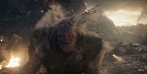 Thanos' death