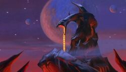 Overlord Skeletor's Snake Mountain