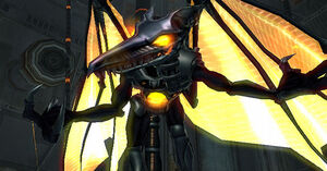Meta Ridley's Evil Grin