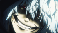 Tomura's creepy smile
