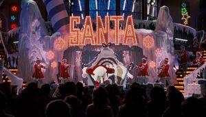 Santa Stage