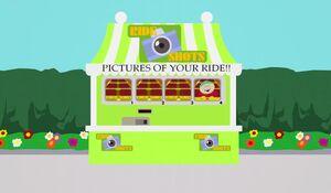 The Ride Shots Kiosk