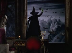 Wicked Witch sends the Flying Monkey army