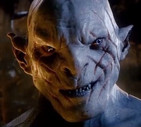 Azog Evil Grin