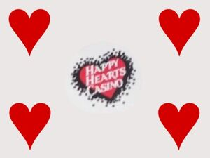 The Happy Hearts Casino Logotype