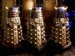 Daleks appearence