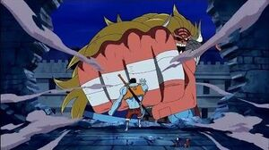 Nightmare Luffy vs Oars & Moria Arc Thriller Bark