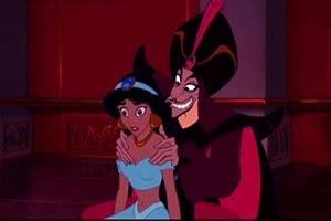 Jafar tricking Jasmine