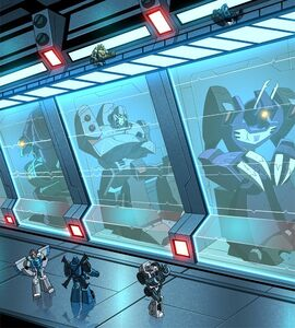 Decepticons at Trypticon Prison