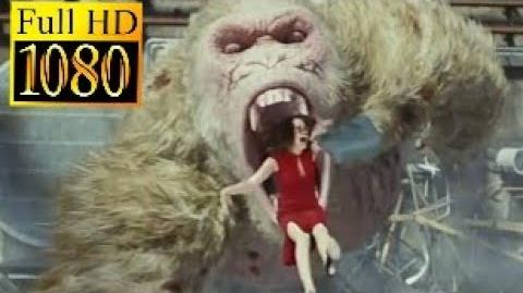Rampage movie clip-Claire Wyden's death-Full HD