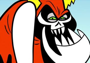 Lord Hater's Sinister Smile
