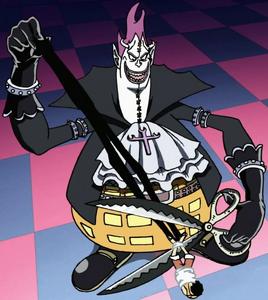 Moria Cuts Luffy's Shadow