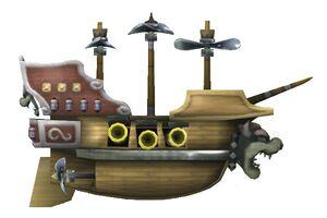 The Bowser Airship