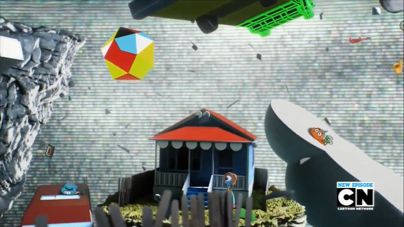 the amazing world of gumball the painting