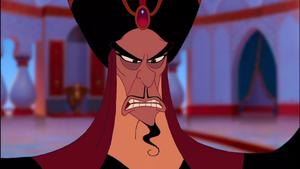 Jafar's menacing glare