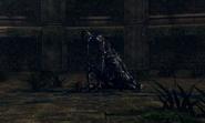 Knight Artorias kills Bloat