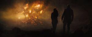 Burning Plague Tree