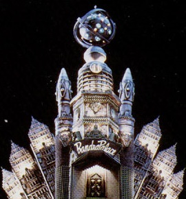 Empress Rita Repulsa's Moon Castle