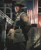 Sergeant Barton Geddes
