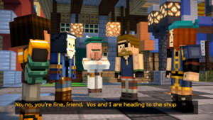 The Gang in Beacontown