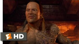 The Mummy Returns (10 11) Movie CLIP - The Scorpion King Returns (2001) HD