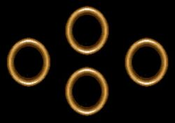 Dark Power Rings