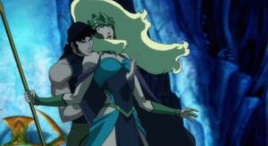 Orm kills his own mother - Queen Atlanna