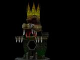 K. Rool's Mobile Island Fortress