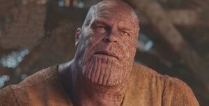 Thanos scarred