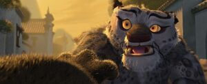 Tai Lung's Defeat