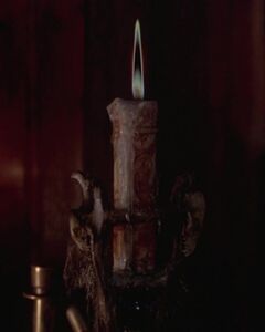 The Black Flame Candle