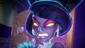 Hellen Gravely evil stare