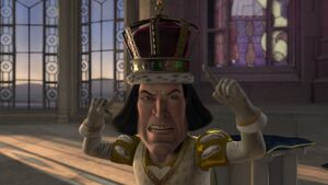 Lord Farquaad's breakdown
