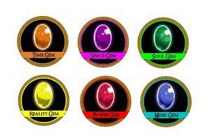 Six Infinity Gems
